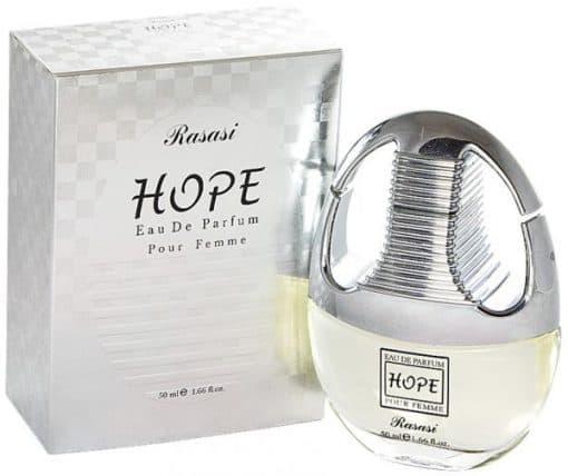 ادوپرفیوم زنانه رصاصی مدل هوپ Hope حجم 50 میلی لیتر