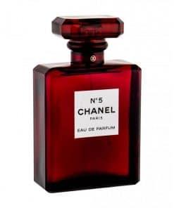 تستر اماراتی ادو پرفیوم زنانه ی شانل مدل نامبر 5 ادیشن No5 Red Edition حجم 100 میلی لیتر
