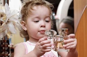 تاثیر عطر بر روی کودکان