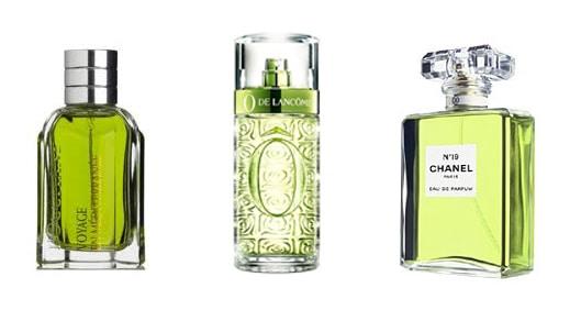 Green Perfumes - تشخیص بوی عطر از روی رنگ آن