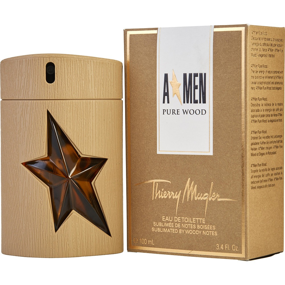 Thierry Mugler A Men Pure Wood mehstyle - عطرهایی که اسانس قهوه دارند را بشناسید